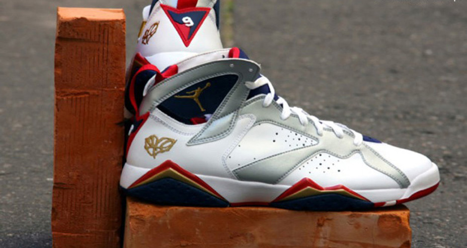 "finest selection 8668f e26f1 Air Jordan Retro 7 (VII) Olympic ""For The Love Of The Game ..."