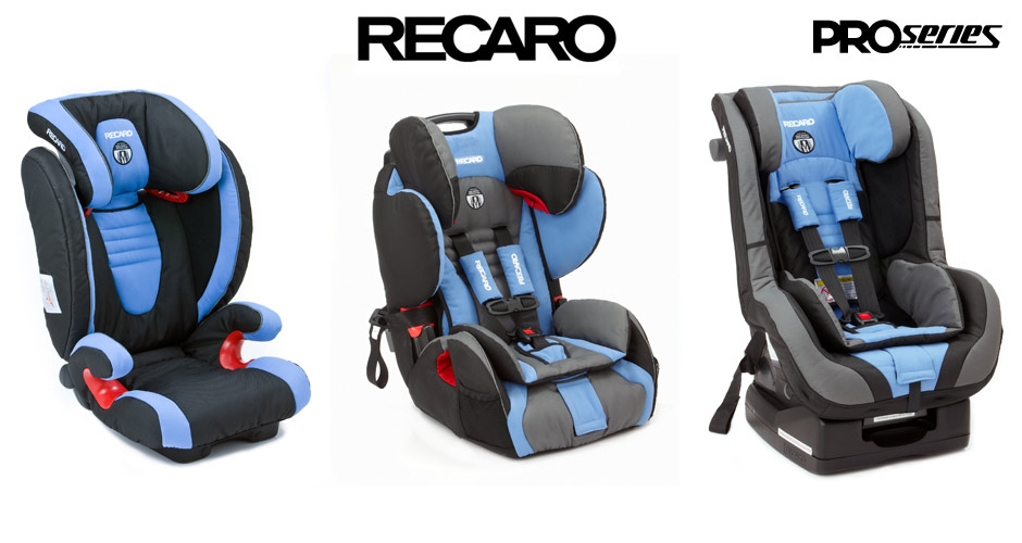 Recaro Launches Proseries Child Safety Seats Fatlace Since 1999