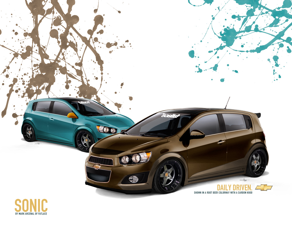 2012 Chevrolet Sonic by Fatlace – Fatlace™ Since 1999