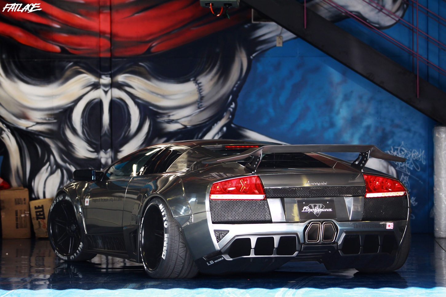 Liberty Walk Bulls Of Steel Fatlace Since 1999