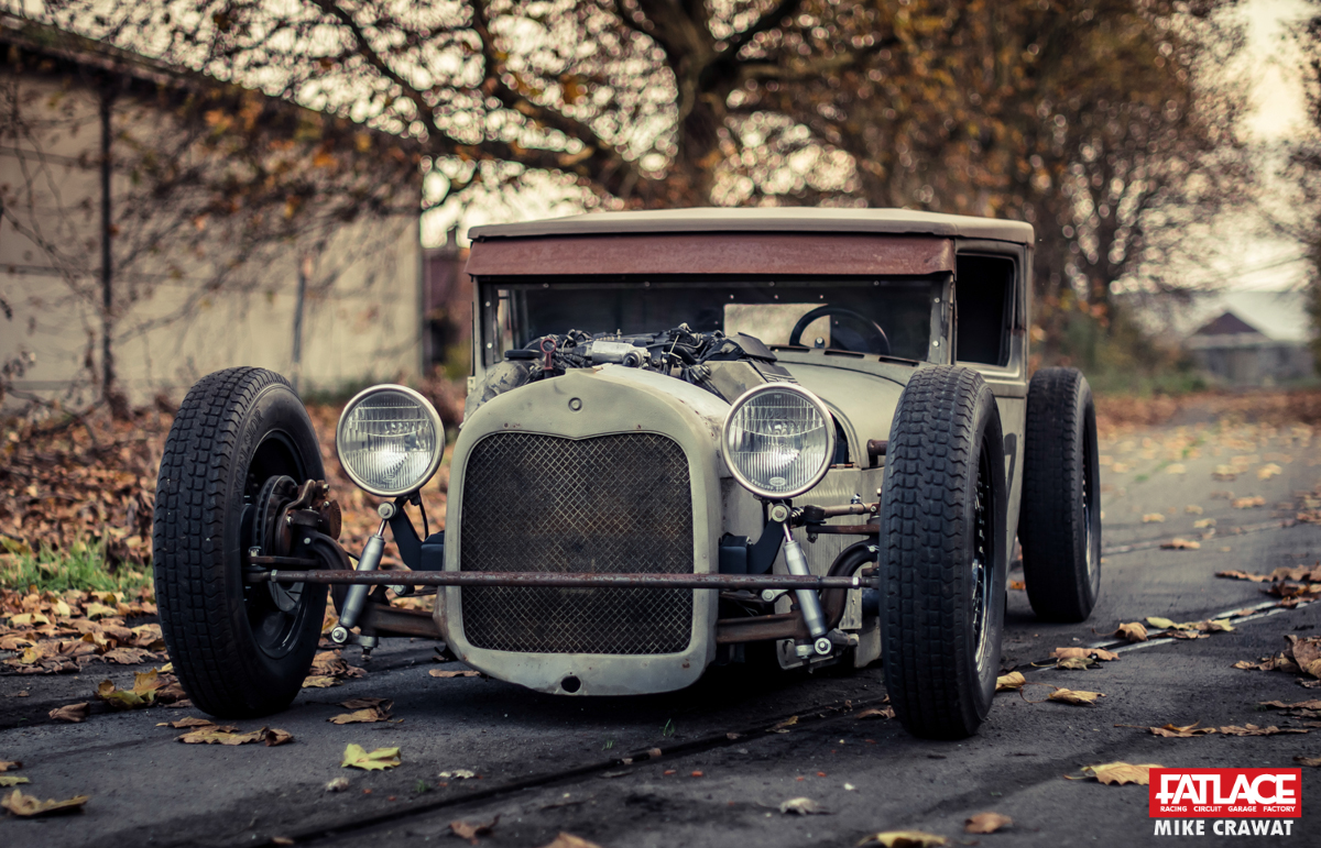 Rat Rod Ford Model A Closed Cab Pickup Fatlace Since 1999
