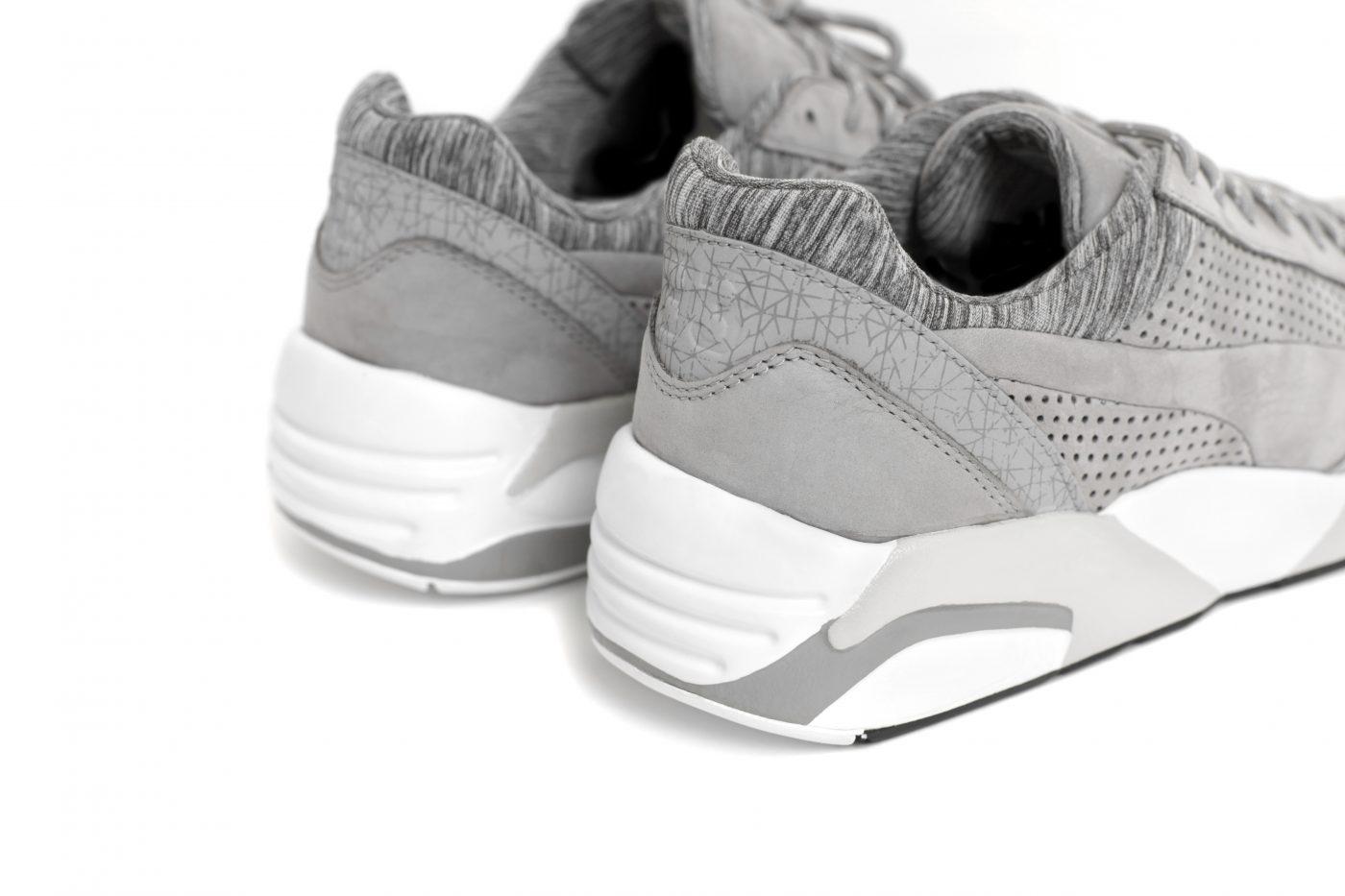 Puma Grey R698 Shoe 3