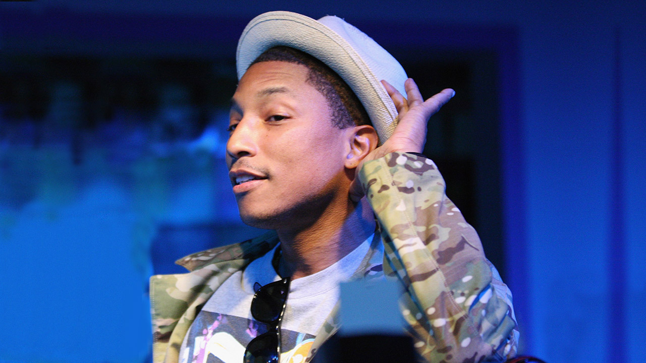 AUSTIN, TX - MARCH 14:  Rapper Pharrell Williams performs onstage at the BET Music Showcase during the 2013 SXSW Music, Film + Interactive Festival at Brazos Hall on March 14, 2013 in Austin, Texas.  (Photo by Hutton Supancic/Getty Images for SXSW)