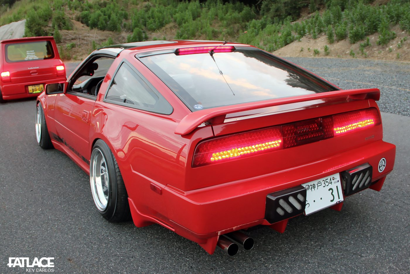 Additional Modifications For The Z31 Includes Led Taillights And A Modified Mk Iii Supra Rear Wing